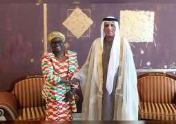 RAK Ruler receives Consul-General of Ghana