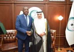 Al Othaimeen Reviews Ministerial Conference Arrangements with a Delegation from Niger