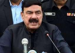 Sheikh Rassheed to hold public gathering in Larkana in response to PPP gathering in Rawalpindi