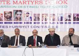 Masood Khan Lauds APHC Efforts And Its Unnerving Struggle For Freedom From Indian Occupation