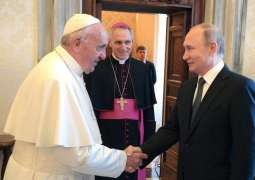 Pope Francis May Come to Russia Due to Putin's Past Vatican Visits - Ex-Italian Minister