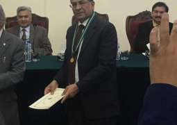 Pakistan Academy of Science awarded Gold Medal to Prof. Dr. Masroor Ellahi Babar in honor of his outstanding services in Agriculture and Veterinary sciences