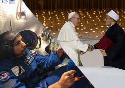 UAE 2019 highlights: From Pope's historic visit to Hazza's astonishing spaceflight