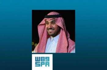 الأمير عبدالعزيز الفيصل يهنئ رئيس الاتحاد السعودي لكرة القدم بتأهل المنتخب السعودي إلى نهائي خليجي 24