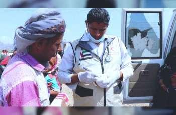 UAE sends aid, medical convoys to Taiz, Hadramaut in Yemen