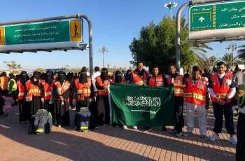 الهلال الأحمر بتبوك يشارك في اليوم العالمي للتطوع