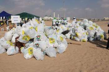 18th Cycle of Clean up UAE 2019 collects 3 tonnes of waste in Umm Al Qaiwain
