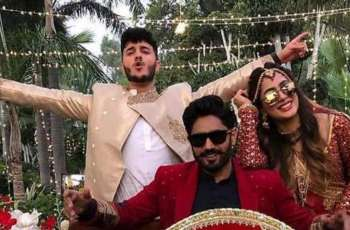 Chamkeeli: Mehwish Hayat takes barat to groom's house