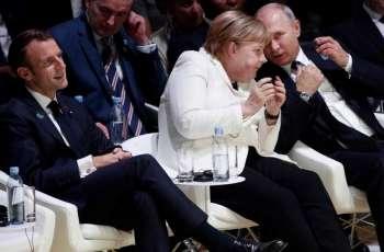 Normandy Four Leaders Begin Bilateral Meetings Ahead of Summit