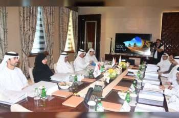 Hamdan bin Rashid chairs ECI's Board of Directors meeting