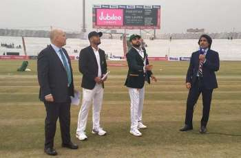 Sri Lanka wins the toss, decides to bat first against Pakistan