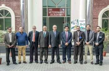 Malaysian delegation from Asia E University visits UVAS
