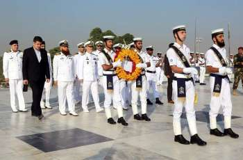 Commander Navy Islamic Republic Of Iran Visits Various Pn Units At Karachi