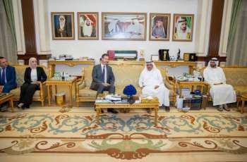 Hamdan bin Rashid receives EFQM delegation