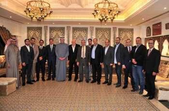 سفير خادم الحرمين الشريفين لدى مصر يقيم حفل عشاء تكريمًا لمجلس الأعمال السعودي المصري