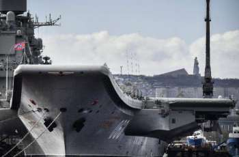 Ten People Injured in Fire at Russia's Admiral Kuznetsov - Emergency Services
