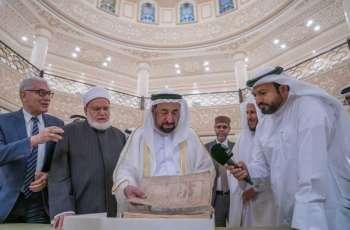 Sharjah Ruler gifts two rare manuscripts