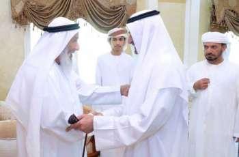 حاكم الفجيرة يحضر مأدبة غداء محمد الشحي