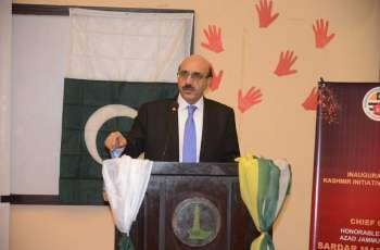Kashmiris will never give in to Indian tyranny: Masood Khan