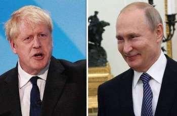 Putin Congratulates Johnson on Reappointment As UK Prime Minister - Kremlin