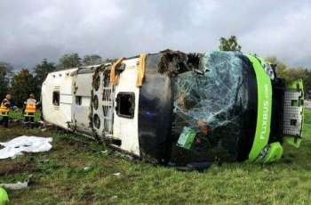 Bus Overturns in Russia's Sverdlovsk Region, 7 People Left Injured - Interior Ministry