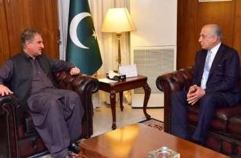 US Representative Khalilzad Welcomes Pakistan's Efforts For Afghan Peace