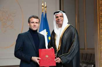 UAE Ambassador presents credentials to French President