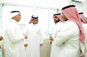 الرئيس التنفيذي لشركة المياه الوطنية يتفقد عدداً من مشروعات المياه بجازان