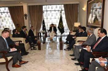 PM Khan calls on US Senator Lindsey Graham