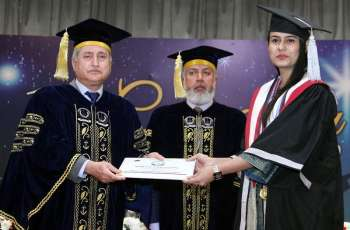 Bahria University holds Convocation of Karachi Campus & Pakistan Navy School of Logistics