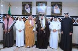 رئيس الديوان العام للمحاسبة يستقبل رئيس ديوان المحاسبة بدولة الكويت