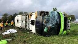 Bus Overturns in Russia's Sverdlovsk Region, 7 People Left Injured - Interior Ministry