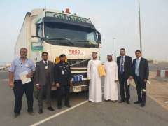 First consignment between UAE, KSA arrives in Jordan