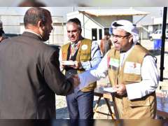 UAE Consulate in Iraqi Kurdistan supervises distribution of aid donated by Khalifa Foundation