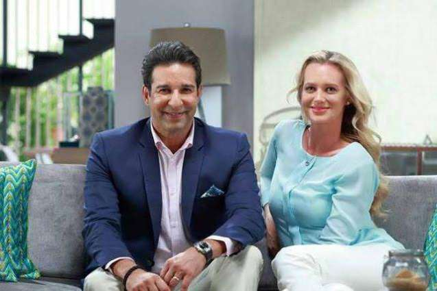 Wasim Akram congratulates wife for being selected as first Global Ambassador for Pakistan