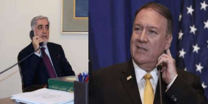 US Secretary Pompeo, Afghan Chief Executive Discuss Peace Negotiations - State Dept.