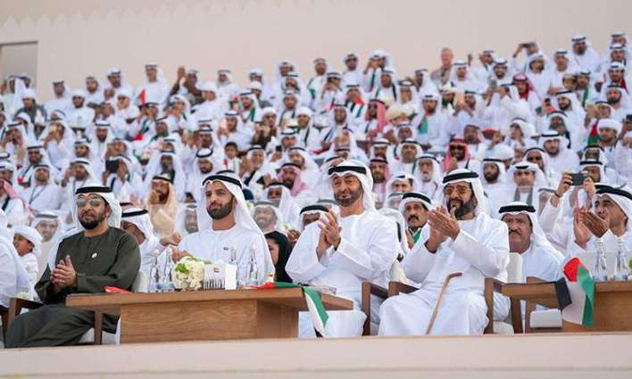 Mohamed bin Zayed, Sheikhs attend March of the Union