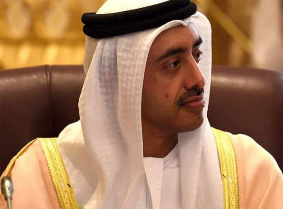 Abdullah bin Zayed, Egyptian Foreign Minister review regional developments