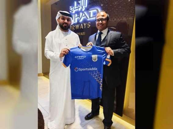 Etihad Airways partners with Mumbai City Football Club