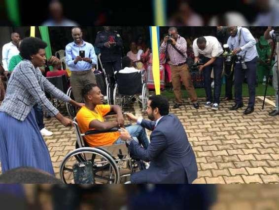 UAE Embassy in Rwanda distributes wheelchairs to people of determination