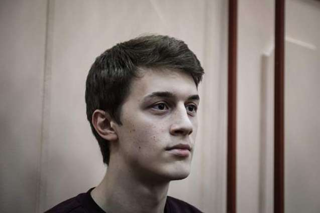 Moscow Court Gives Student Egor Zhukov 3-Year Suspended Sentence Over Inciting Extremism