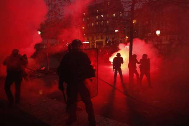 Yellow Vest, Pension Reform Protesters Clash With Police in Paris, Nantes - Reports