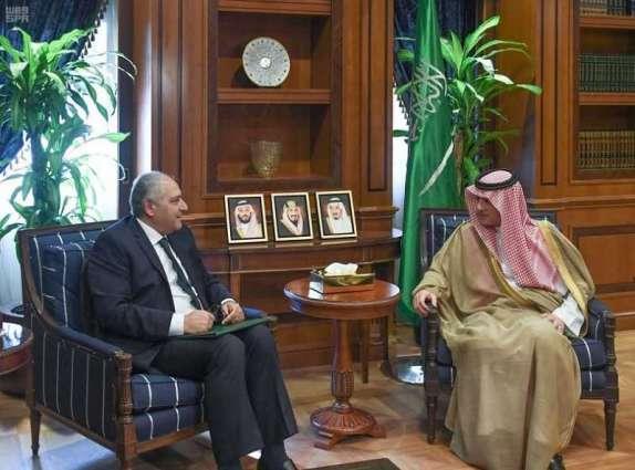 وزير الدولة للشؤون الخارجية يستقبل سفير جمهورية مصر لدى المملكة