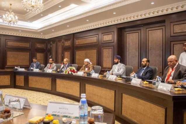 وزير الحج والعمرة يستقبل وزير الأوقاف والإرشاد اليمني