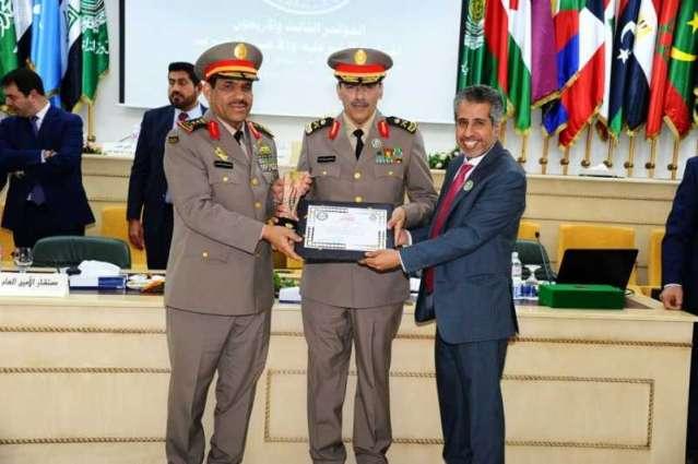 المملكة تفوز بجائزتين في مسابقة الأمانة العامة لمجلس وزراء الداخلية العرب