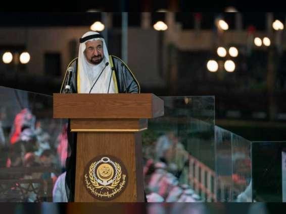 حاكم الشارقة يفتتح الأكاديمية العربية للعلوم والتكنولوجيا والنقل البحري بخورفكان
