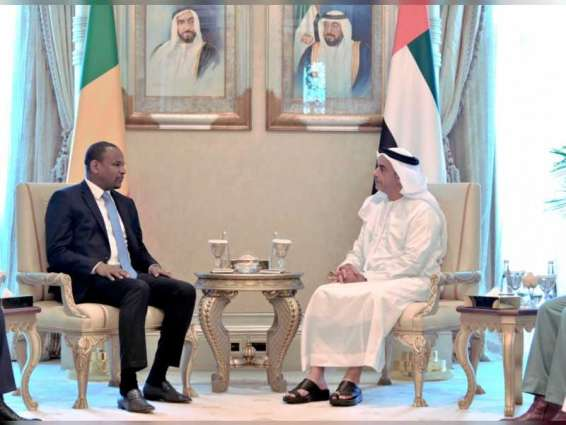 Saif bin Zayed meets with Prime Minister of Mali