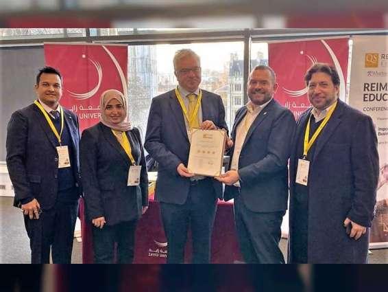 Zayed University awarded 4-star Institution Rating