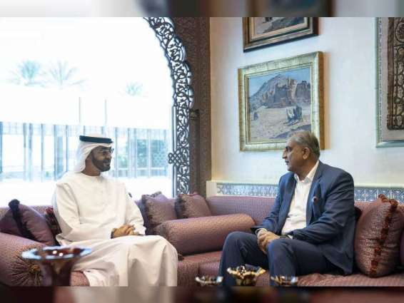 Mohamed bin Zayed receives Pakistan's Army Chief of Staff