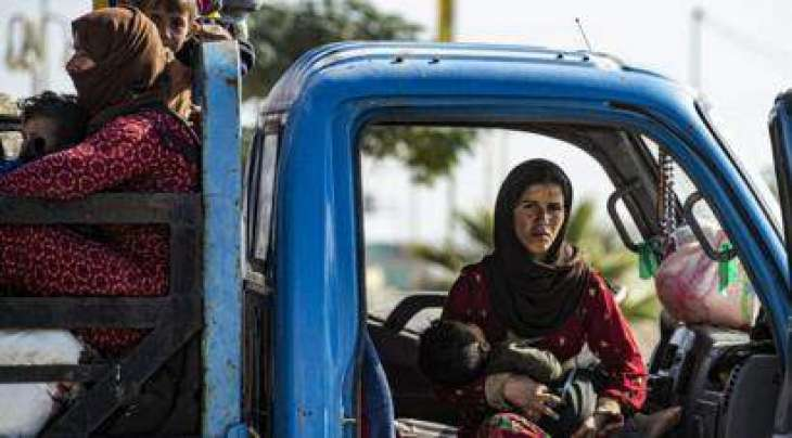 Over 150,000 IDPs in Syria Move Closer to Turkish Border Due to Hostilities - Red Crescent
